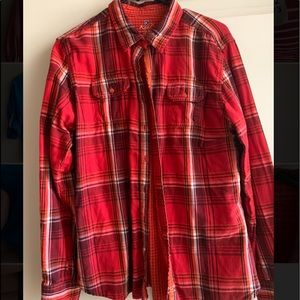 Kuhl red plaid button down